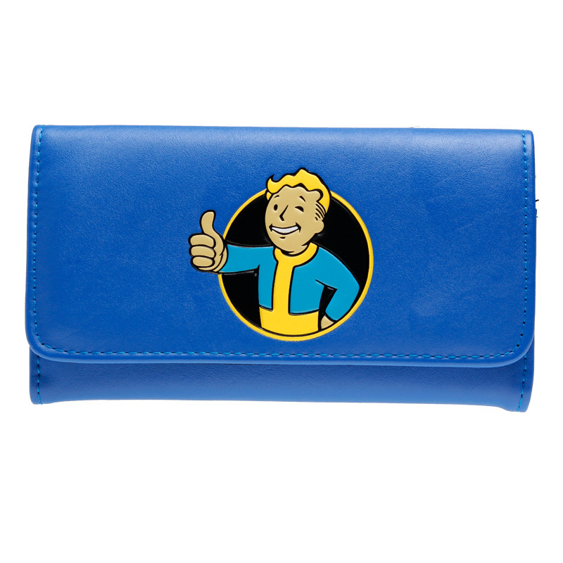 Game Fallout Wallet for Young With Card Holder  DFT-1911 leeshang marvel captain america bi fold wallet dft 1007a for dft 1995 fold mini small wallet