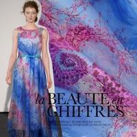Digital Inkjet Silk Face Perspective DIY Scarf Dress Fabric 100 Silk Fabric Silk Tulle Silk Chiffon