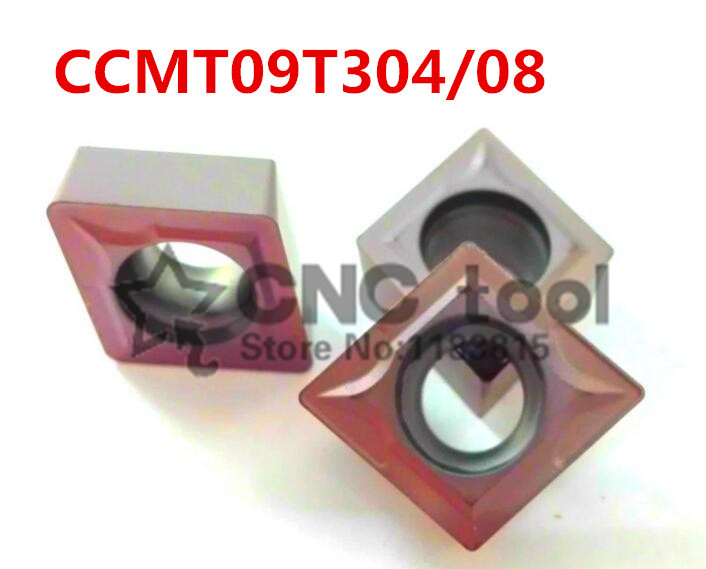 10pcs CCMT09T304/CCMT09T308 Carbide CNC inserts CNC lathe tool apply to stainless steel and steel processing for SCLCR/SCKCR|cnc lathe tool|cnc inserts|lathe tools - title=