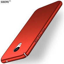 SIXEVE Case For Meizu M3 Note / M5 Note M5s Mobile Cell Phone Back Cover Rigid Hard Plastic Shockproof Ultra Thin Casing Housing(China)