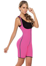 Vrouwen Fitness Shaper Latex Activewear Bodysuit Cincher Afslanken Fit Neopreen Taille Trainer Corset Levendige Shapewear(China)