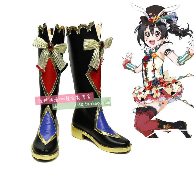 Japanese Anime Love Live Cosplay Boots Kousaka Honoka/Ayase Eli/Koizumi Hanayo Cosplay Shoes Comic Lolita Shoes