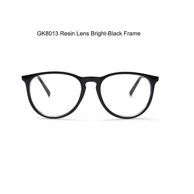 3e348415dd1 Glasses Fashionable Women   Men Round Glasses Frame Resin Lens Eyewear  Wholesale Free Shipping iouy GK8013