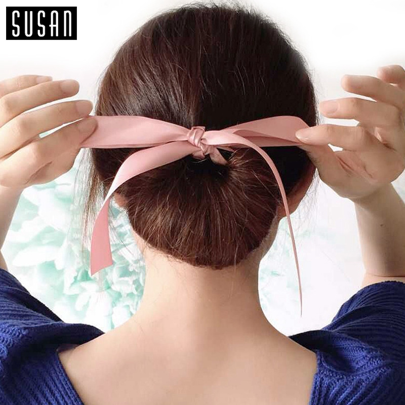 Brilliant Online Buy Wholesale Hair Donut Bun From China Hair Donut Bun Hairstyles For Women Draintrainus