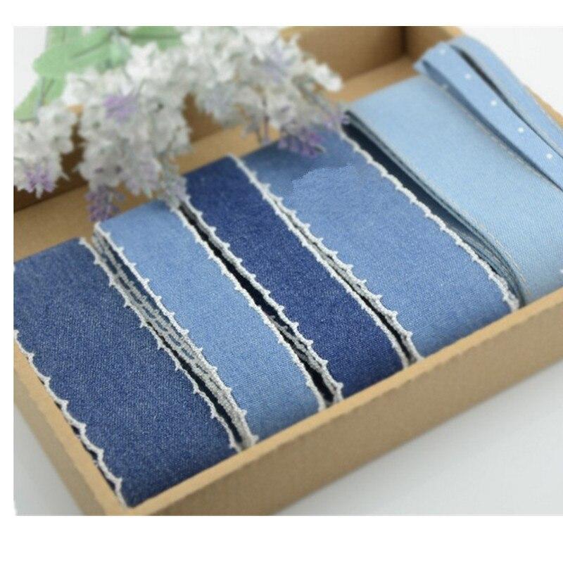 mm cm mm cinta de algodn de mezclilla otoo invierno hecho a mano cinta cinta