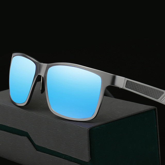 Aluminum Men's Polarized Mirror SunGlasses Male Driving Fishing Outdoor Eyewears Accessories Glasses Men Gafas de sol