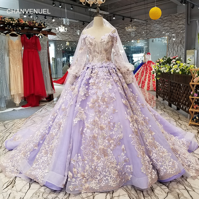 LS50119 color lace flowers puffy purple   evening     dress   sweetheart off shoulder ball gown party   dress   high quality quick shipping