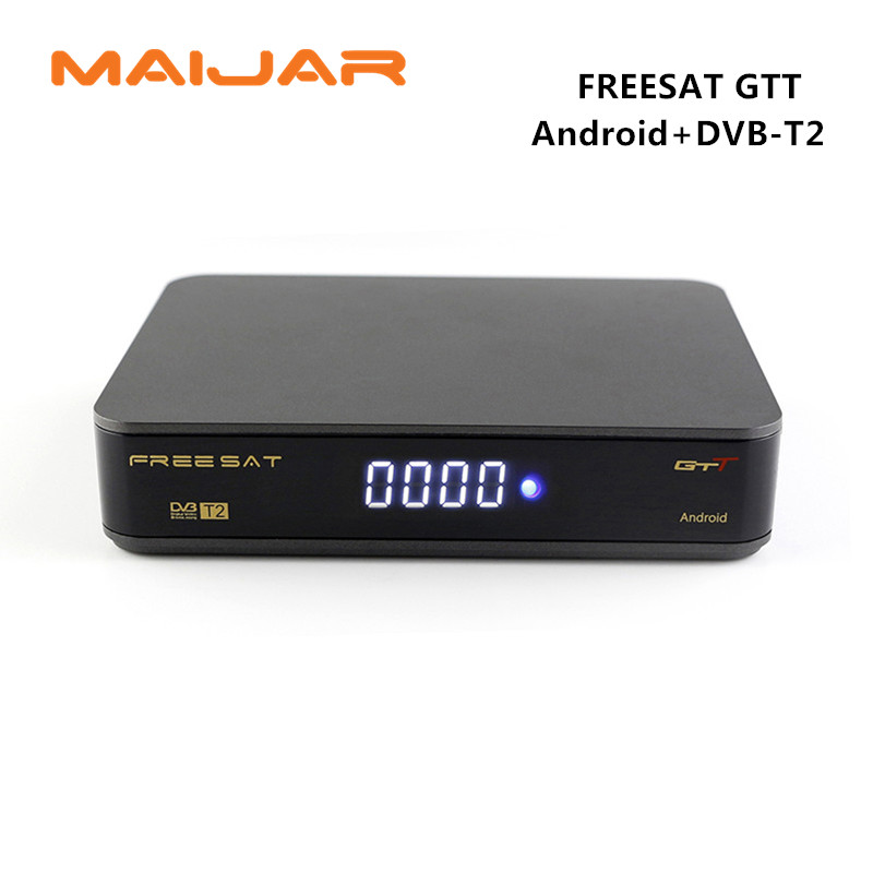Original FREESAT GTT font b Android b font 6 0 TV BOX DVB T T2 Cable