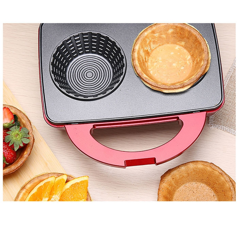 Nonstick Waffle Maker Bowl Machine With Double Sided Heating For Making Ice Cream And Cake 3
