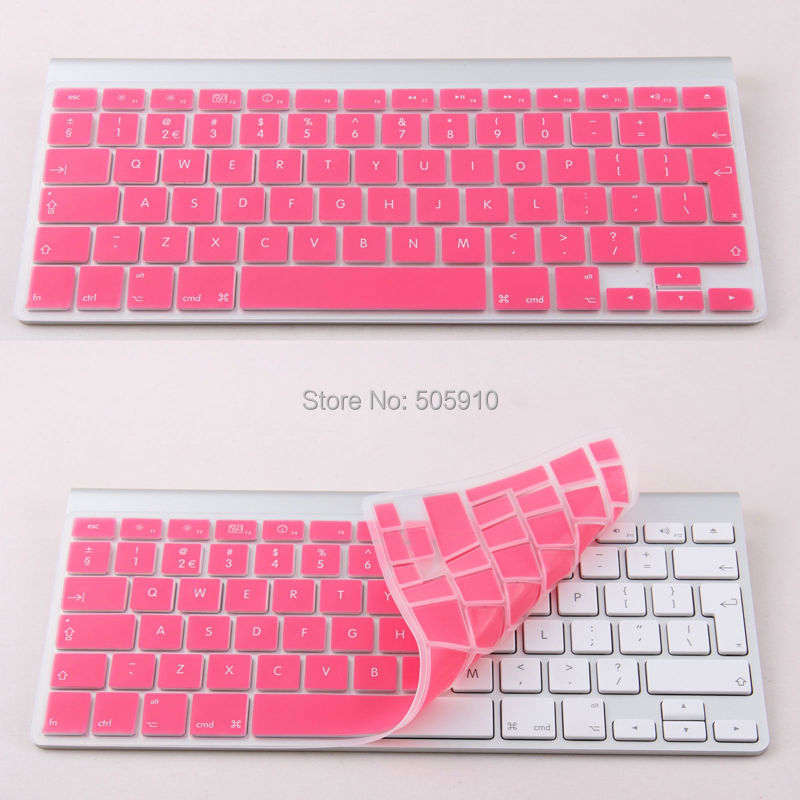 21aa012ae97 Purple UK/EU Silicone keyboard Cover Protector for iMac G6 wireless Keyboard,  For Macbook Pro 13/15/17 FREE SHIPPING-in Keyboard Covers from Computer ...
