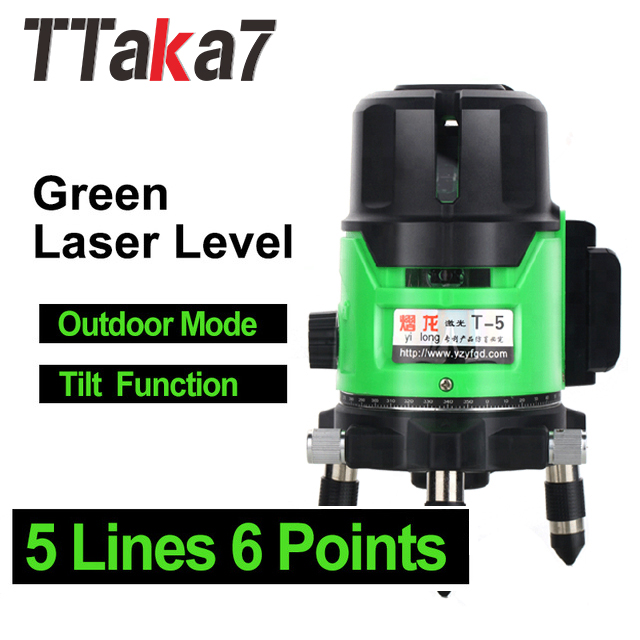 Laser Level 5 Lines 6 Points Automatic Self Leveling 360 Vertical&Horizontal Tilt & Outdoor Mode can use laser level ToolLaser Level 5 Lines 6 Points Automatic Self Leveling 360 Vertical&Horizontal Tilt & Outdoor Mode can use laser level Tool