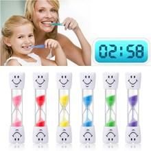 Песочные часы 3 минуты улыбающееся лицо песочные часы декоративные предметы домашнего обихода Детские таймер для зубной щетки песочные часы подарки