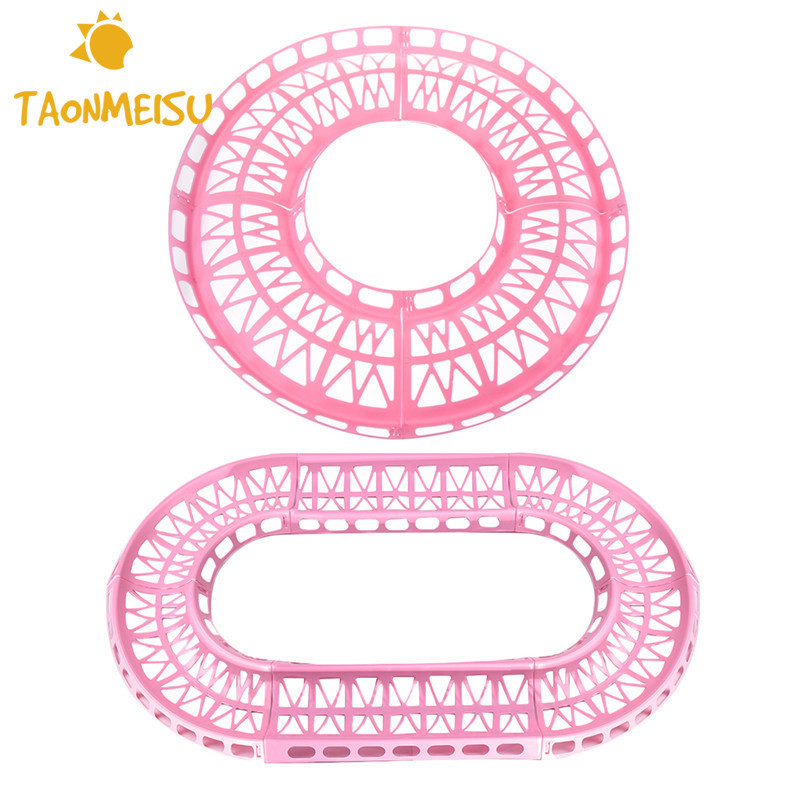 Round Oval Pet Training Runway Track Hamster Toys without Balls for Pets hamster squirrel Guinea pig Chinchilla hamster toy 1pcs soccer-specific stadium