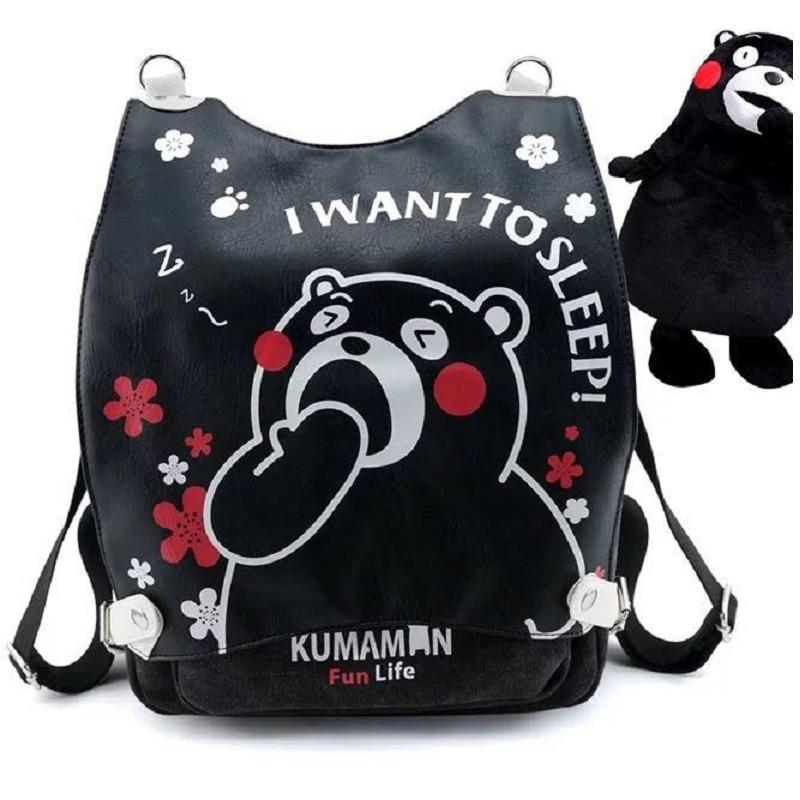 New Hot Anime kumamon Backpack  Cosplay  Backpacks  Student School bags unisex BagsNew Hot Anime kumamon Backpack  Cosplay  Backpacks  Student School bags unisex Bags