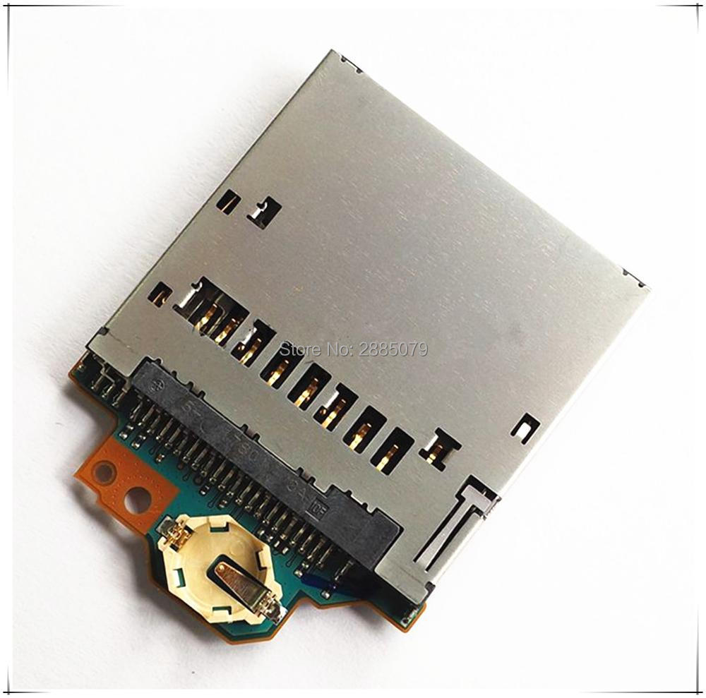 Free Shipping New  Card Slot Board Repair Parts A6300 For Sony Camera