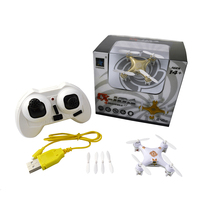 Woldewide Welcomed Cheerson CX-10A RC Quadcopter 4CH 2.4GHz Headless Mode Drone – white ColorBig Promotion Sales RC Helicopter