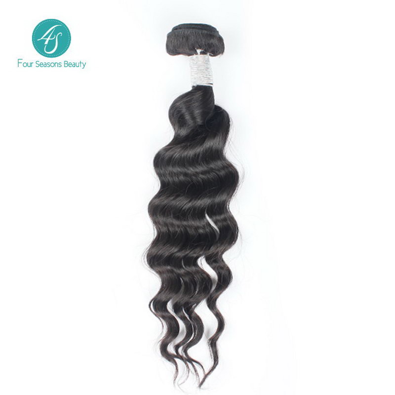 6a Virgin Human Hair Loose Body Wave Unprocessed Hair Extension Natural Color 1B 1PC LOT Fast Shipping Malaysian Virgin Hair