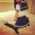 Sexy Lingerie Uniform Temptation Fantasias Sexy Student Uniform Costume Outfit Top+ Skirt
