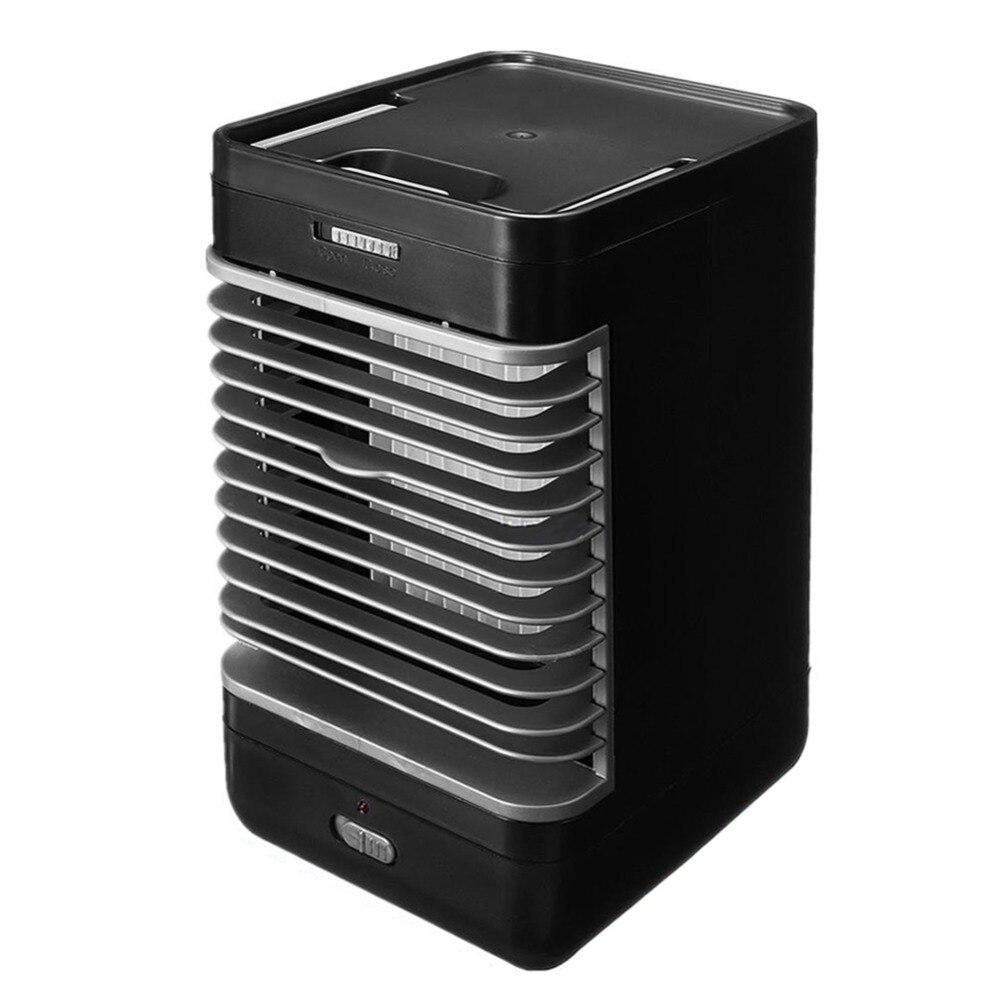 Mini aire acondicionado ventilador espacio Personal enfriador de manera rápida y fácil para enfriar cualquier espacio de aire acondicionado Dispositivo de escritorio de oficina