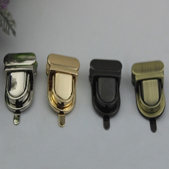 Durable Buckle Twist Lock Hardware For Bag Shape Handbag DIY Turn Clasp Fashion Tongue Latch - discount item  17% OFF Bag Parts & Accessories