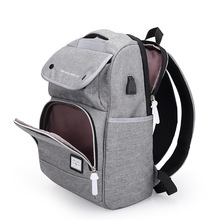 2019 Man Both Shoulders Usb Charge anti theft Backpack Woman Waterproof Will Capacity Student Bag Travel Computer Package