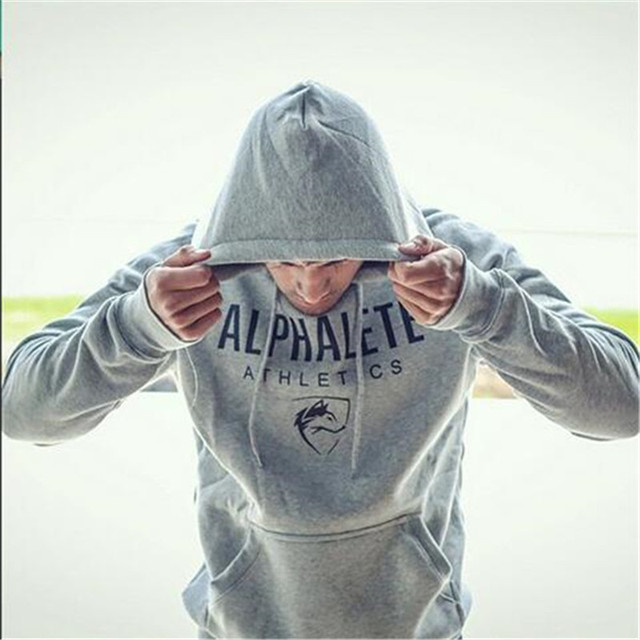 New in the autumn 2016 Alphalete sharkh spring Hoodies polar impressions man clothingHip hop sweat