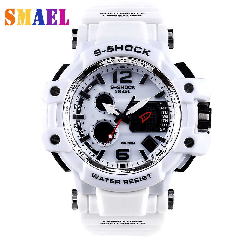Digital analog Wristwatches men women LED electronic Day dive army G S Shock sport watch relogio