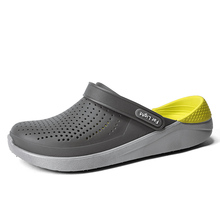 Zomer Strand Schoenen Vrouw Outdoor Slippers Ademende Sandalen Mannen Antislip Slides Koppels Slippers Slip on Crocse Zapatillas