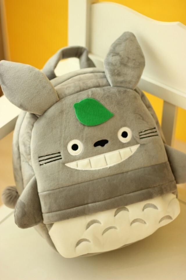 Plush cartoon children shoulder bag totoro backpack for kids baby boys and girls plush toy backpack