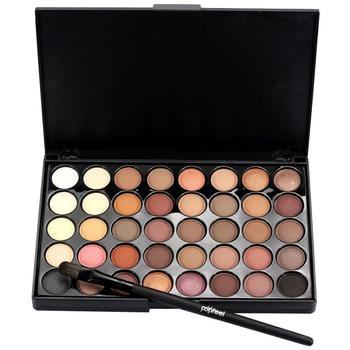 Popfeel brand 15 10 0 9cm cosmetic matte eyeshadow cream makeup palette shimmer set 40 color.jpg 350x350