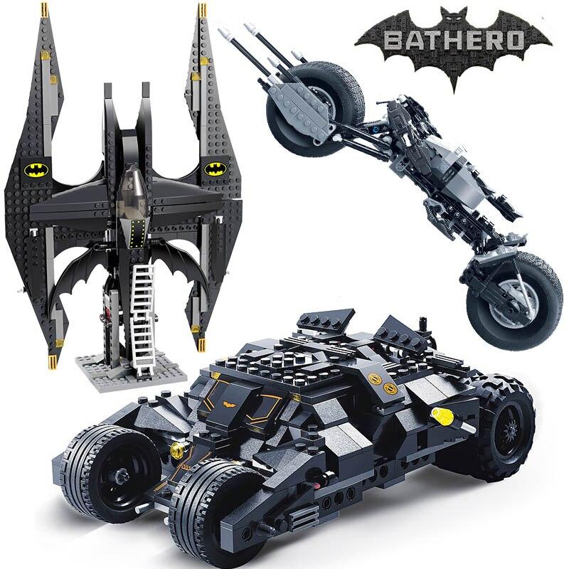 Decool Super Héros Batman Tumbler BatMobile Chauve-Souris Blocs de Construction 7116 Compatible 7784 Éducatifs Jouets Pour Enfants Cadeaux
