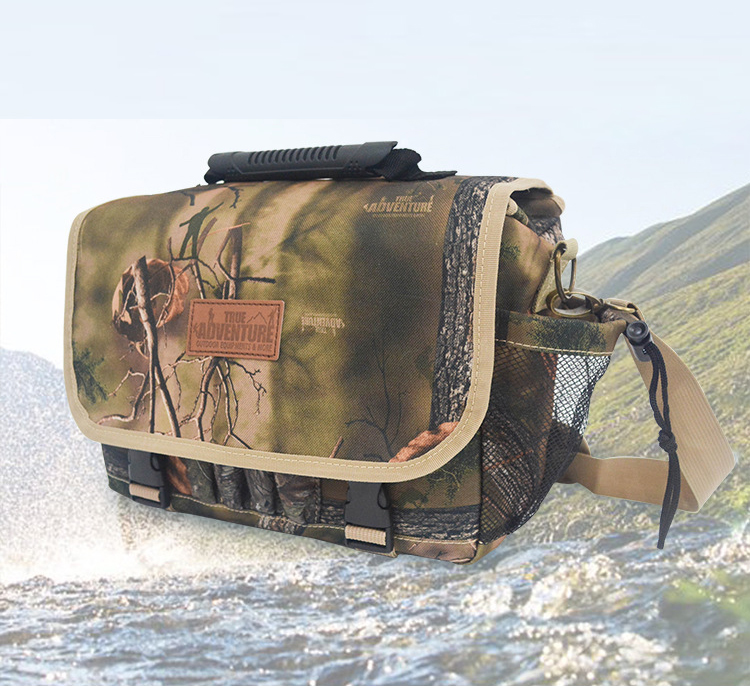 Outdoor Multi Functional Luxury Series Camouflage Tactics Bag Hunting Bag Shoulder Messenger Bag Travel Bag Army / Moore Series
