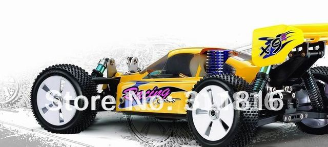 Most Fashion fastest car!  Free shipping,YAWUTOYS 1:8 professional 21 engine power one-speed cross-country rc nitro gas car