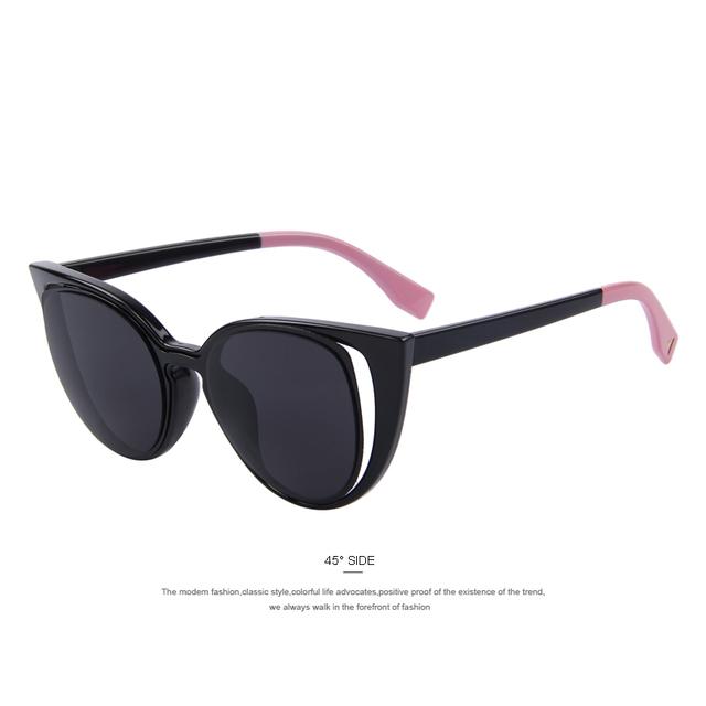MERRY'S Fashion Cat Eye Sunglasses Women Brand Designer Retro Pierced Female  UV400