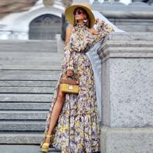 Womens Summer Boho Maxi Long Dress Evening Party Beach Dresses Sundress Floral Halter