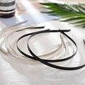 5 шт./лот, обруч для волос 3/5/6/7 мм, пустая лента из нержавеющей стали для изготовления головных уборов, плоская основа, для самостоятельного и...