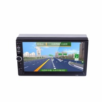 Car MP5 Player 7 Inches 2 Din Double Spindle HD Touch Screen Car Auto Bluetooth Hands
