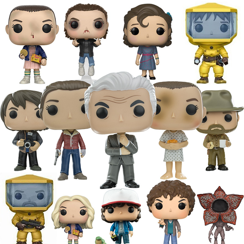Collections Stranger Things 3 Figure Joyce Doll Eleven Action Figure Toys Gifts 10CM