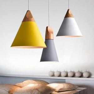 Image 2 - LukLoy Modern Kolye Tavan Lambaları Loft Mutfak LED kolye Işıkları Hanglamp Asılı aydınlatma armatürü Nordic Armatür