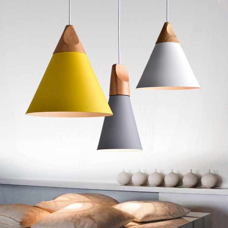 LukLoy Modern Pendant Ceiling Lamps Loft For The Kitchen Led Pendant Lights Hanglamp Hanging Light Fixture Nordic Luminaire
