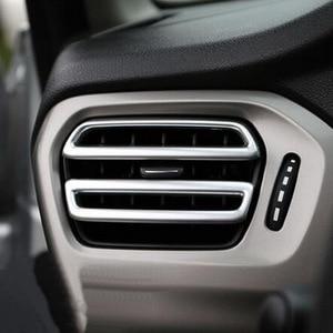 Image 3 - Tonlinker الداخلية لوحة منفذ غطاء ملصقات Citroen C Elysee/بيجو 301 تصفيف السيارة 8 قطعة ABS كروم غطاء ملصقات