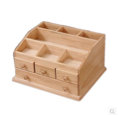 Massivholz Tisch Hautpflege Hölzernen Schmuckschatulle Aus Holz Wc Tisch  Kosmetik Aufbewahrungsbox Verfassungsorganisator Schublade Typ Schrank