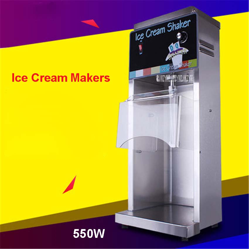RC-118  220V/ 50Hz Ice Cream Mixer Yogurt Mc Flurry Mixer Fruit Juice Maker Frozen Yogurt Mixer Machine Flurry Ice Cream Maker