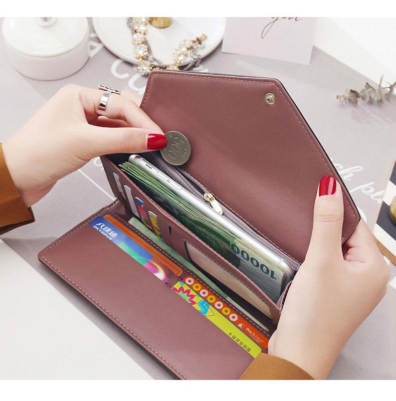para mulher ferrolho bolso para moeda titular