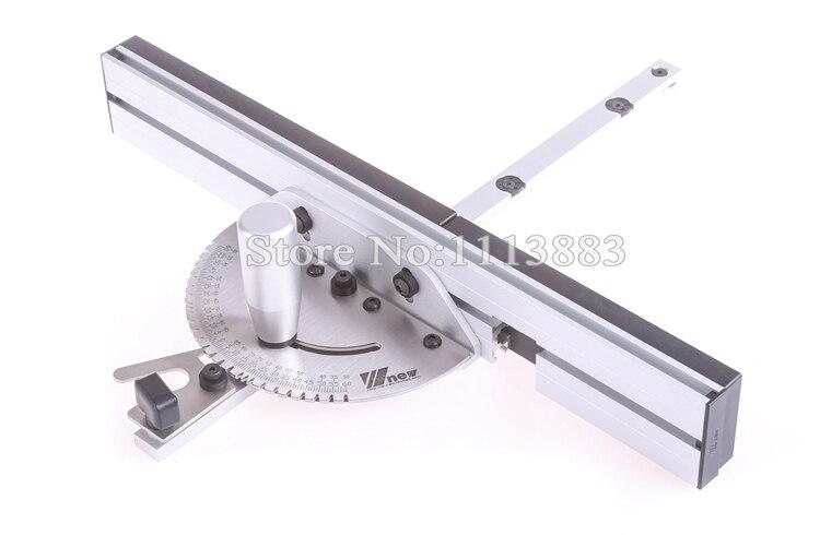 Купить с кэшбэком Miter Gauge and Box Joint Jig Kit, Aluminum Handle