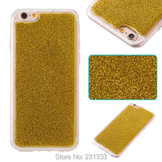 For Iphone 7 Plus I7 7PLUS <font><b>6</b></font> 6S SE 5 5S Soft TPU Case <font><b>Glitter</b></font> Bling Clear Shine Rubber jelly <font><b>Cell</b></font> <font><b>phone</b></font> Skin <font><b>Cover</b></font> Luxury 1pcs