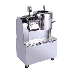 100-200 kg/h wielofunkcyjny Obieraczka do ziemniaków/pokrojone/shred maszyna ze stali nierdzewnej potatos maszyna do obierania komercyjnych obierak do ziemniaków
