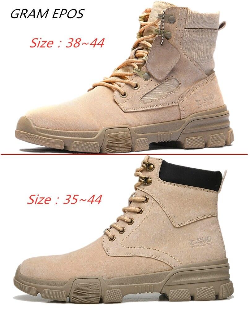 De Ao brown Sapatos brown Tático Especial Do Alta Dos Marca Deserto Botas Livre Couro Força Tornozelo Ar Casal Black Combate Homens Militar grey Qualidade Yq1n4qwXS