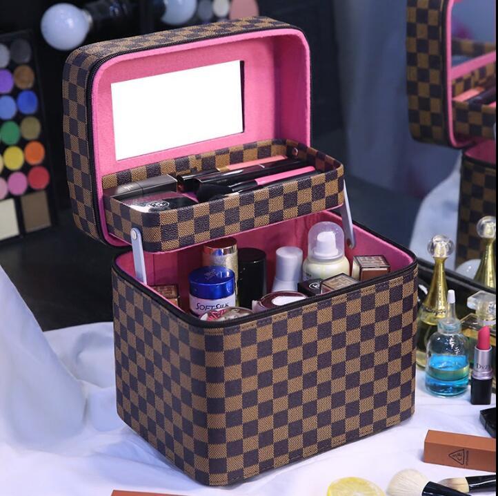 Top selling! Cosmetic bag large capacity multi-purpose for Makeup brush kits  NICETop selling! Cosmetic bag large capacity multi-purpose for Makeup brush kits  NICE