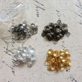 Free Shipping 6MM 500Pcs Metal Little Flower Bead Caps DIY Jewelry Findings & Components
